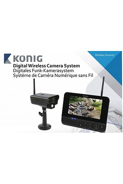 Konig Outdoor Camera With Monitor