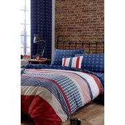 Stars And Stripes Quilt Set