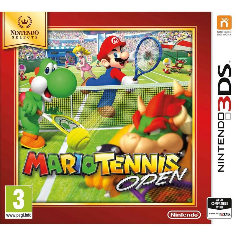 Cheapest price of 3DS Mario Tennis Open in new is £14.99