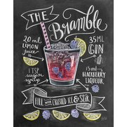 Bramble Cocktail Print