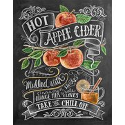 Hot Apple Cider Print
