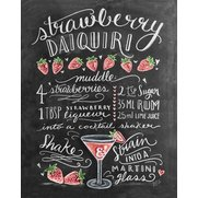 Strawberry Daiquiri Print