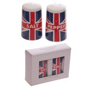 Union Flag - Porcelain Salt & Peppe...