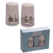 Bicycle Design Porcelain Salt & Pep...
