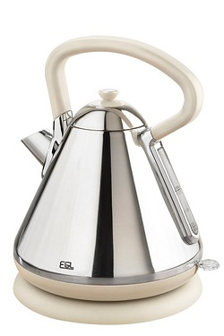 Stainless Steel Ivory Pyramid Kettle