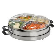 Lazy Susan Cordless Buffet Warmer