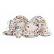 16 Piece Maderia Stoneware Dinner Set