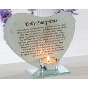 Baby Footprints Plaque