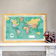 World Traveller Map - Green