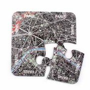 World City Map Coasters - Paris