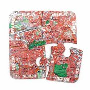 World City Map Coasters - Berlin