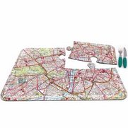World City Map Placemats - London
