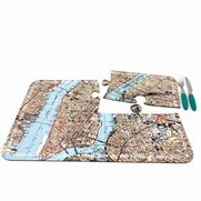 World City Map Placemats - New York