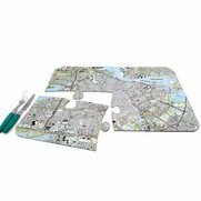 World City Map Placemats - Amsterdam