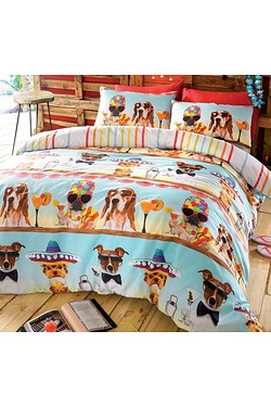 Bar Dogs Duvet Set