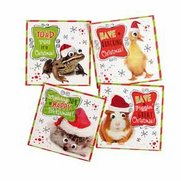 16 Quacking Christmas Mini Cards