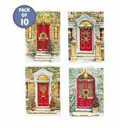 Pack Of 10 Traditional Christmas Cards