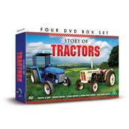 Story of Tractors - 4x DVD Set
