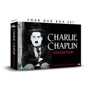 Charlie Chaplin Collection - 4x DVD...