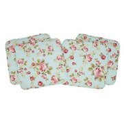 Set Of Floral Seat Pads