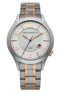 French Connection Gents Dial Silver...