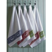 5 Piece Jacquard Tea Towel Set