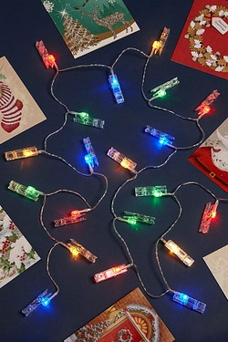 Light-Up Card Holder Pegs