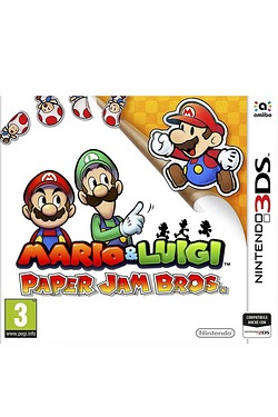 Nintendo 3DS XL Mario and Luigi Paper Jam Bros.
