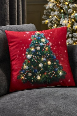 Led Cushion Christmas Tree