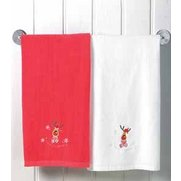Pack Of 2 Christmas Towels