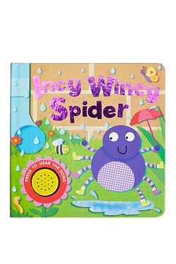 Incy Wincy Spider Song Sounds Book