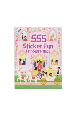 555 Sticker Fun - Princess Palace