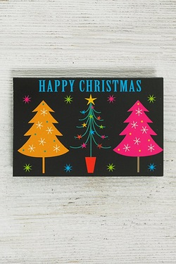 5 Bright Tree Tags