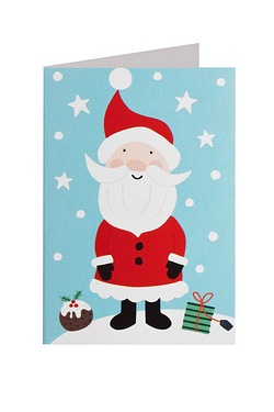 Santa & Friends Self-Adhesive Tags