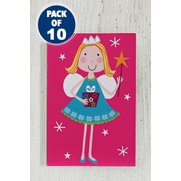 10 Pink Fairy & Elf Gift Tags