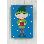 Blue Santa & Elf Gift Tags