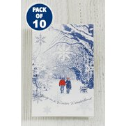 10 Winter Scene Gift Tags