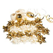 Cream & Gold Foil Bow Pack