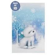 10 Cute Snow Animals Tags
