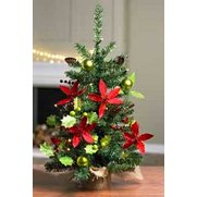 LED Poinsettia Tree