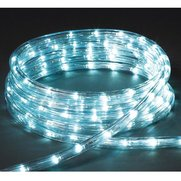 Ice White Chasing Rope Light