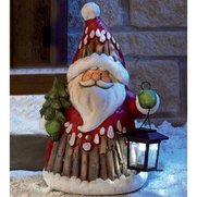 Solar Powered Figure - Santa