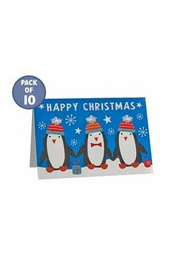 10 Penguin Kids Gift Tags