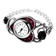 Bed Of Blood Roses Bracelet Watch