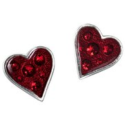 Heart's Blood Studs