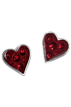 Hearts Blood Studs