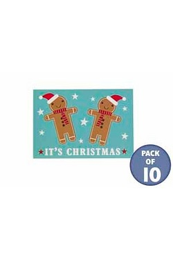 10 Gingerbread Tags Adult Tags