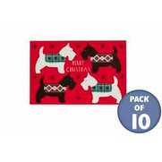 10 Scotty Dogs Adult Gift Tags