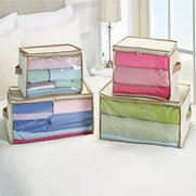 Set Of 4 Storage Bags