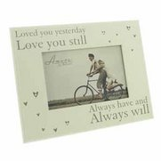 Amore Photo Frame 'Loved You Yesterday